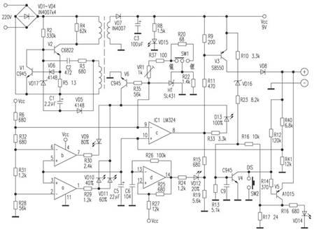 适用于多种电池的充电器电路 接下来介绍一款moto手机旅行充电器.