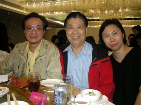 与许经燕、尹淑瑜同学喜相聚