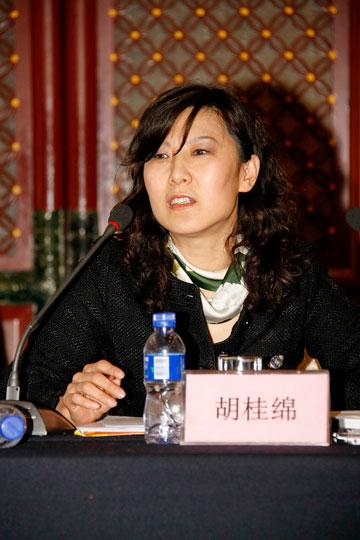 印标委第四届委员会秘书长胡桂绵女士