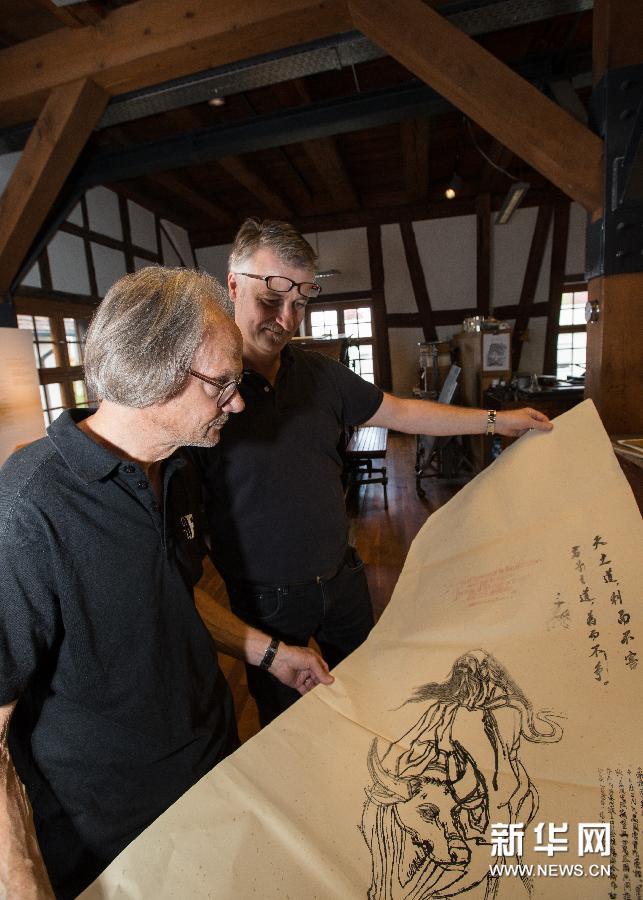 (国际)(2)中西雕版印刷艺术相逢巴塞尔