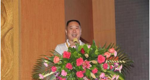 中国丝网印刷行业协会执行会长王涛致辞