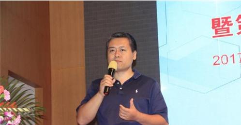 中国丝网印刷行业协会秘书长王健致辞